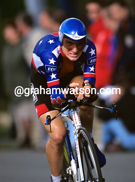 Tyler Hamilton in the 2000 World TT Championships