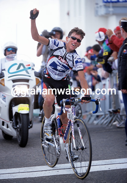 Tyler Hamilton in the 2000 Dauphine-Libéré