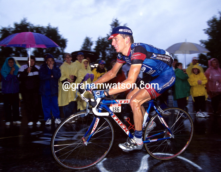 Tyler Hamilton in the 1998 Tour de France