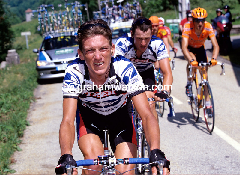 Tyler Hamilton in the 2000 Classique des Alpes