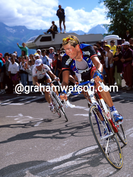 Jean-Cyril Robin in the 1997 Tour de France
