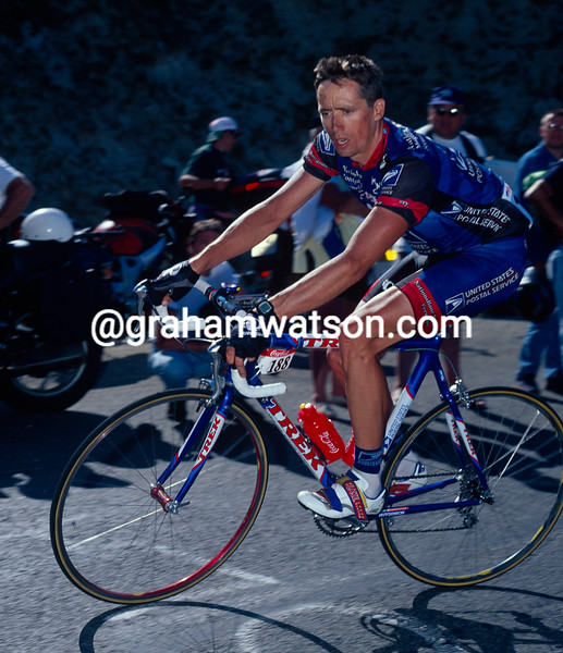 Marty Jemison in the 1998 Tour de France