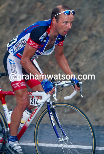 Eddy Graigus during the 1997 Tour of Spain