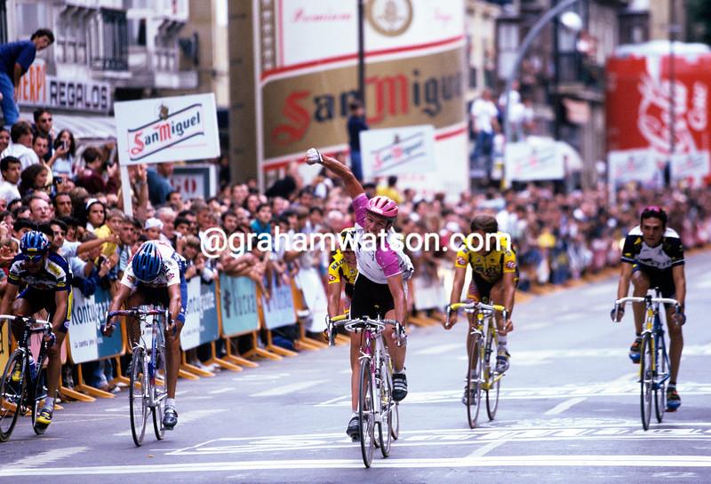 Udo Bolts wins the Clasica San Sebastian