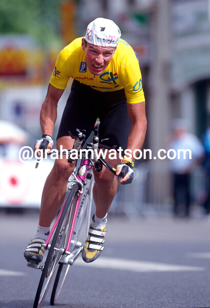 Udo Bolts in the 1998 Dauphine-Libere