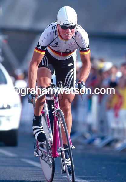 Udo Bolts in the 1993 Tour de France
