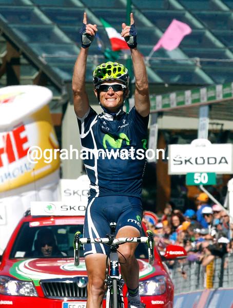 VASILLII KIRYIENKA WINS STAGE TWENTY OF THE 2011 GIRO D'ITALIA
