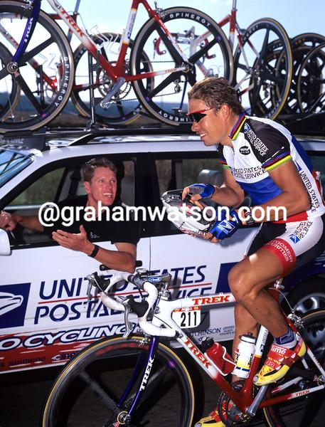 Viatcheslav Ekimov in the 1997 Tour de France