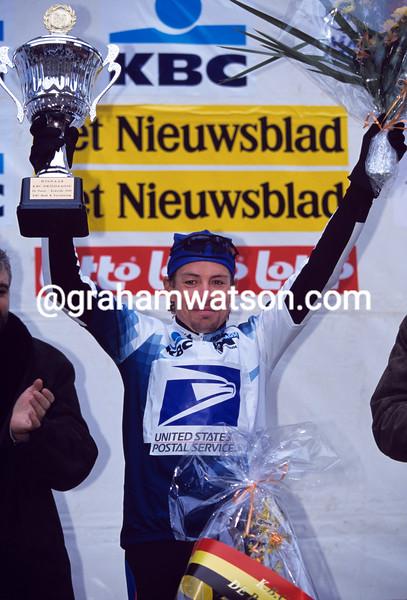 Viatcheslav Ekimov wins the 2000 3-Days of DePanne