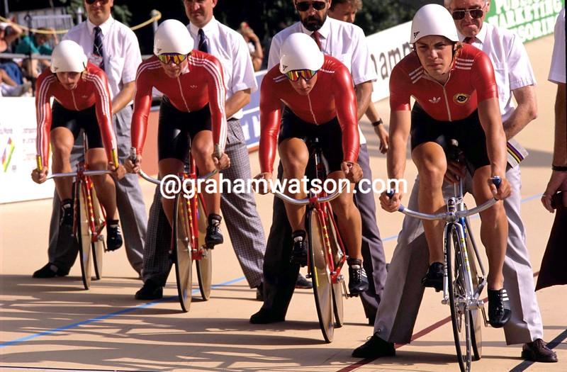 Viatcheslav Ekimov and Russia at the 1989 World Championships
