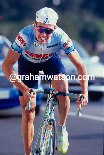 Vladimir Bobrik in the 1995 Paris-Nice