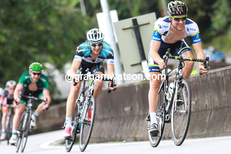 Wesley Sulzberger on stage five of the 2011 Tour of Langkawi