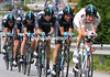TEAM SKY ON STAGE FOUR OF THE 2010 GIRO D'ITALIA