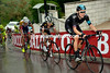 Bradley Wiggins suffers on stage seven at the 2013 Giro d'Italia