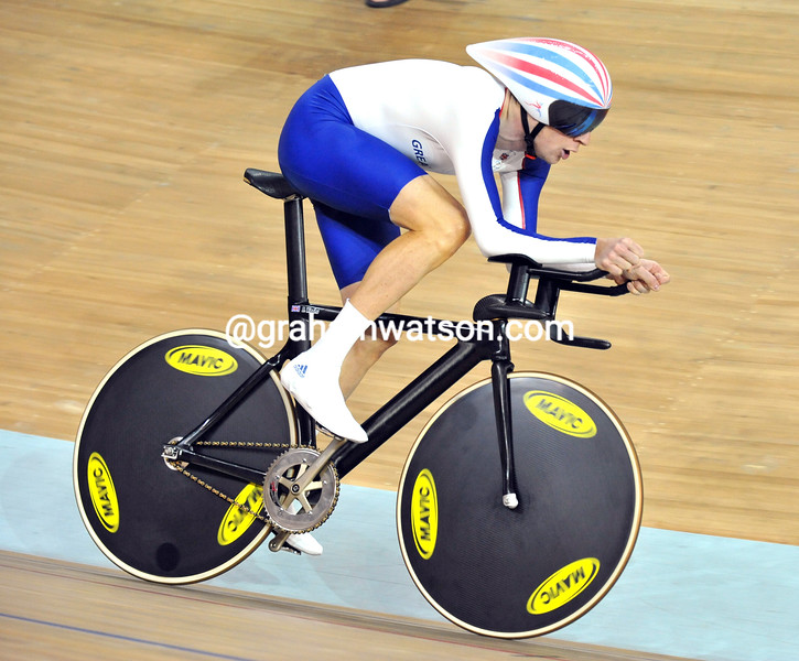 BRADLEY WIGGINS THE PURSUIT AT THE 2008 OLYMPIC GAMES