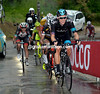 Bradley Wiggins has been dropped on stage seven at the 2013 Giro d'Italia