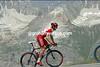 BRADLEY WIGGINS ON STAGE NINE OF THE 2007 TOUR DE FRANCE