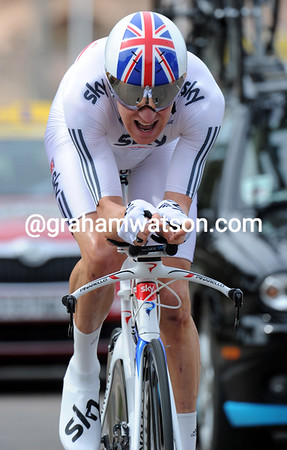 BRADLEY WIGGINS ON STAGE THREE OF THE 2011 CRITERIUM INTERNATIONAL