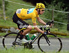 Bradley Wiggins on stage seventeen of the 2012 Tour de France