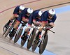 Great Britain in the Mens team pursuit