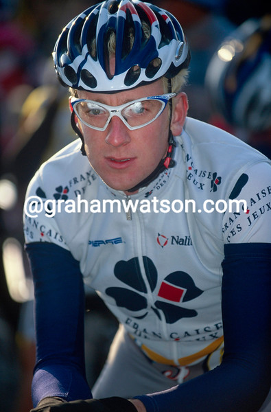 Bradley Wiggins in 2001