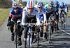 Winds split the peloton on stage two of the 2012 Paris-Nice