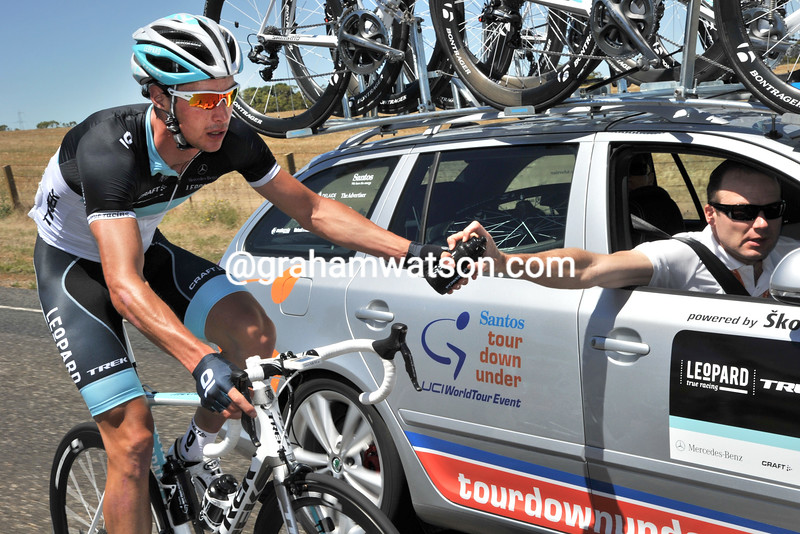 william clarke and lars michaelsen ON STAGE ONE OF THE 2011 TOUR DOWN UNDER