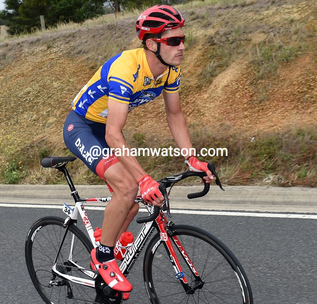 William Clarke on stage one of the 2016 Jayco Herald Sun Tour