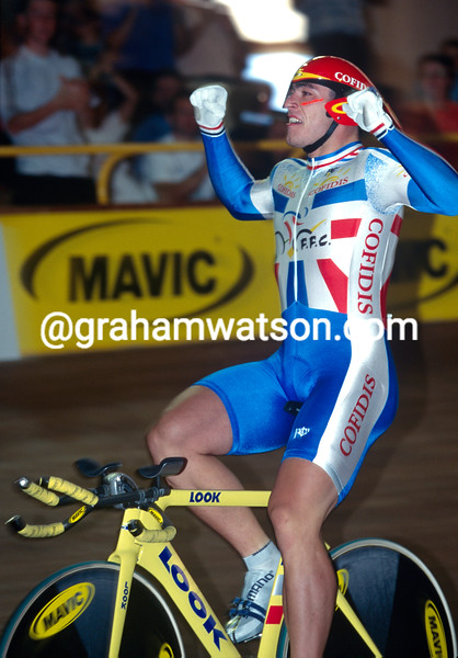 Arnaud Tournant at 1998 World Championships in Bordeaux, France