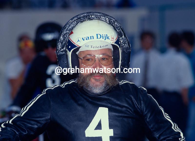 Joop Zijlaard at the 1985 World Championships in Bassano del Grappa