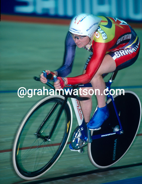 Yvonne McGregor at 2000 World Championships in Manchester, UK