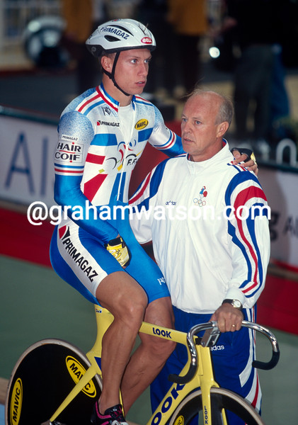 Florian Rousseau and Pierre Trentin at 1998 World Championships in Bordeaux, France