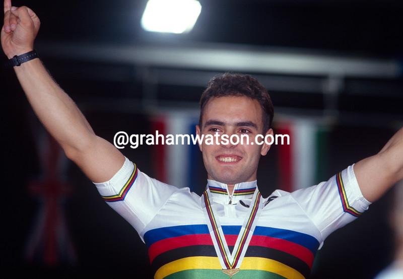 Jose Manuel Moreno at the 1991 World Championships in Stuttgart, Germany