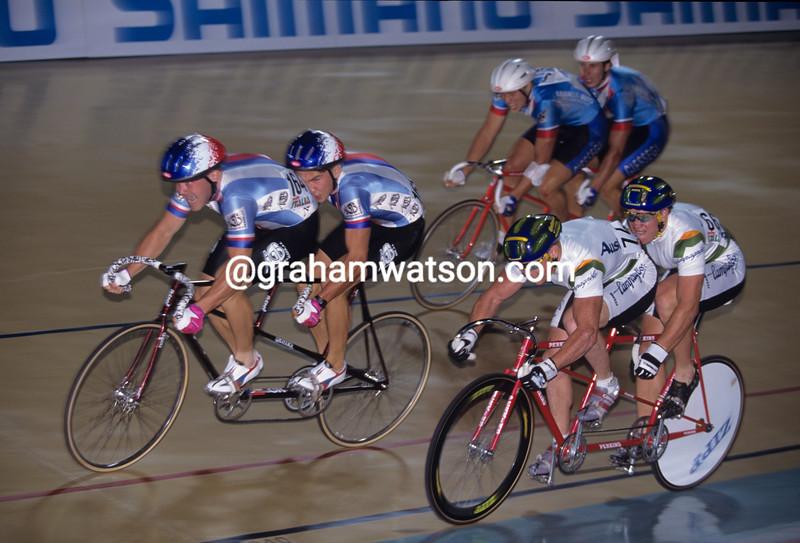Tandem-sprint racing at the 1994 World Championships