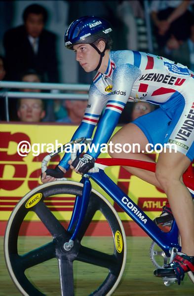 Felicia Ballanger at 1998 World Championships in Bordeaux, France