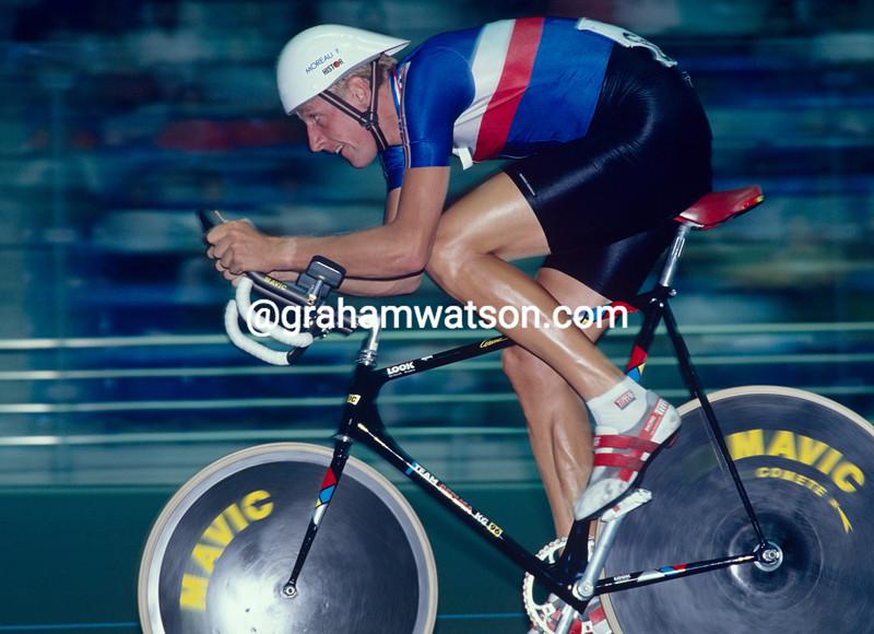 Francis Moreau at the 1990 World Championships