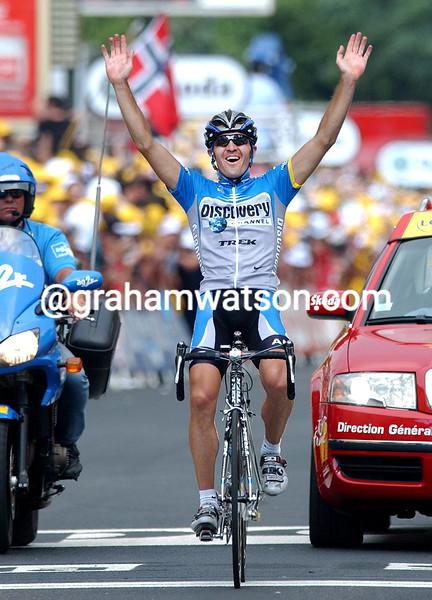 YAROSLAV POPOVYCH WINS STAGE TWELVE OF THE 2006 TOUR DE FRANCE