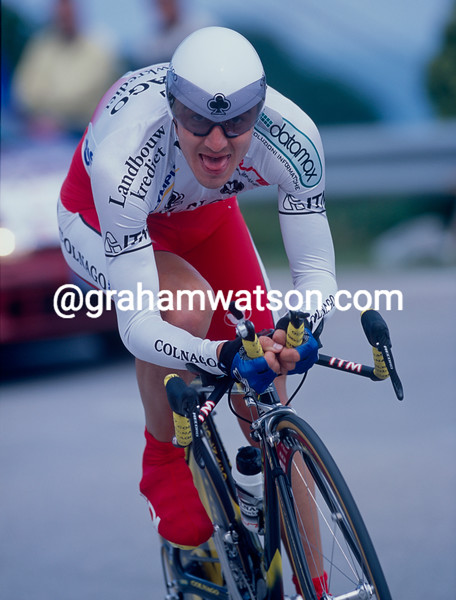 Yaroslav Popovych in a TT of the 2002 Giro d'Italia