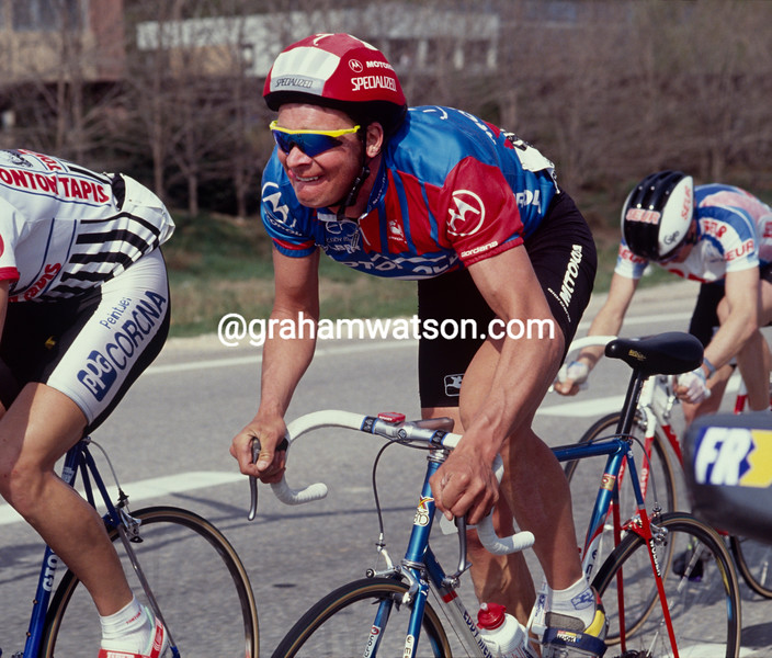 Sean Yates in the 1992 Paris-Nice