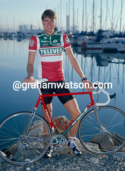 Sean Yates in 1989