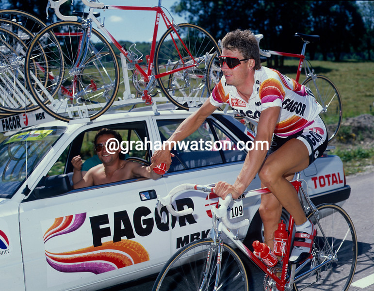 Sean Yates in the 1989 Tour de France