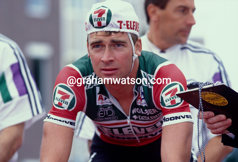 Sean Yates in the 1989 Tirreno-Adriatico