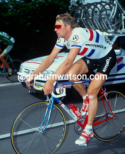 Sean Yates in the 1992 Tour de France