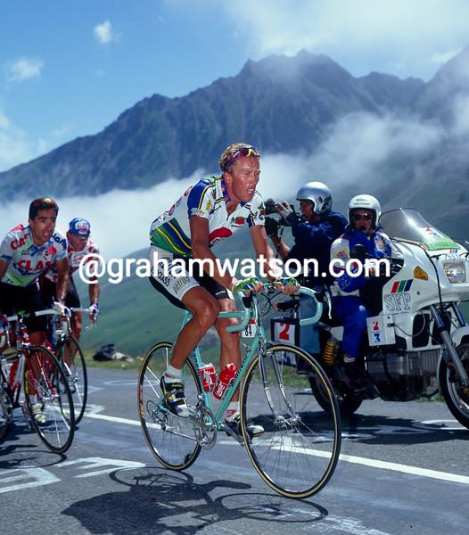 Zenon Jaskula in the 1993 Tour de France