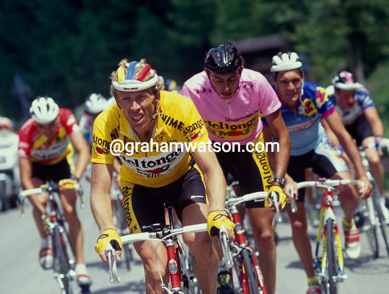 Zenon Jaskula in the 1991 Giro d'Italia