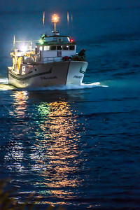 Night Boat Lights