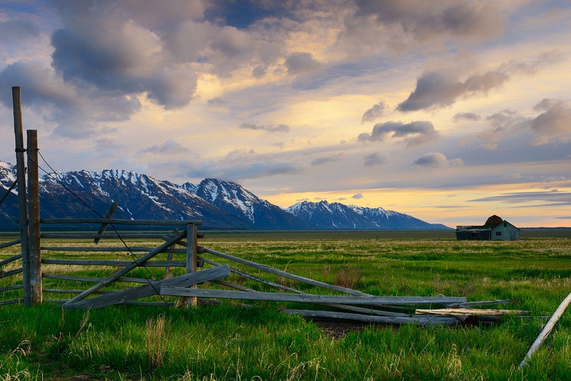 Grand Tetons at Dawn