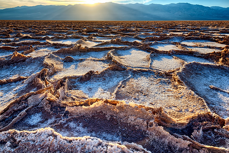Badwater in Death Valley #1