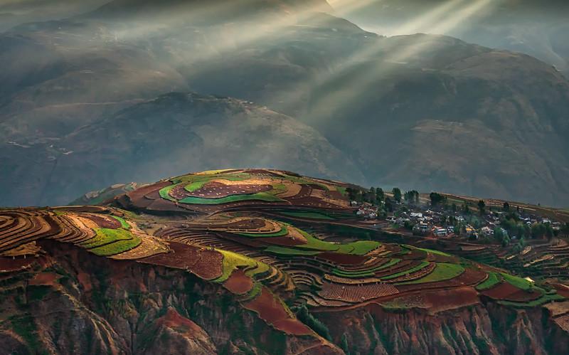 Dongchuan Red Land Area, Yunnan Province, China