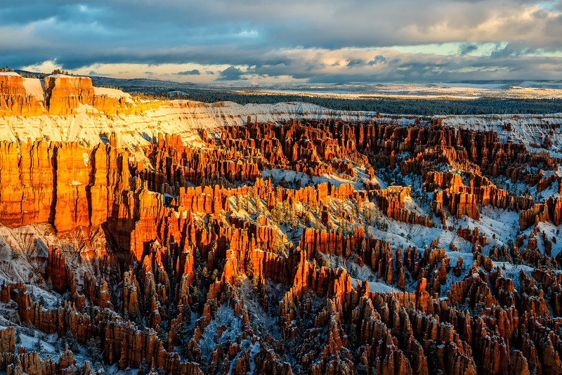 Bryce Canyon Winter Sunrise #1